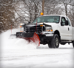 commercial snow plowing dayton ohio